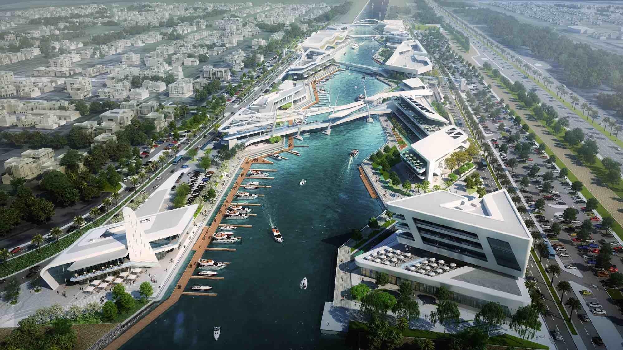 Neues Freizeit- und Unterhaltungsviertel in Abu Dhabi kurz vor Fertigstellung