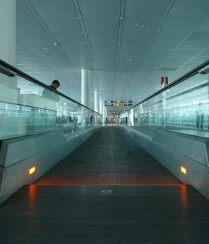 Terminal im Flughafen München