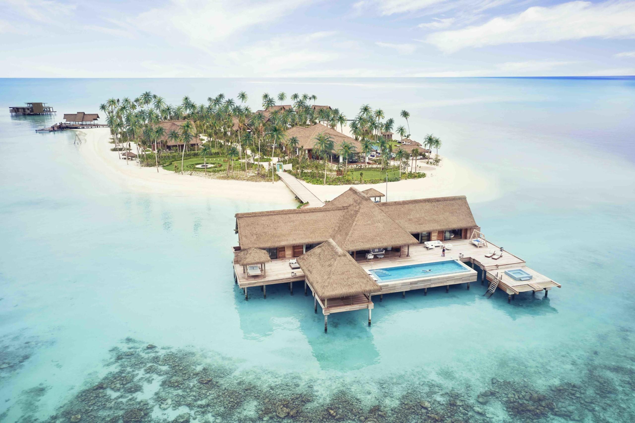Urlaub im Inselparadies Waldorf Astoria Maldives Ithaafushi