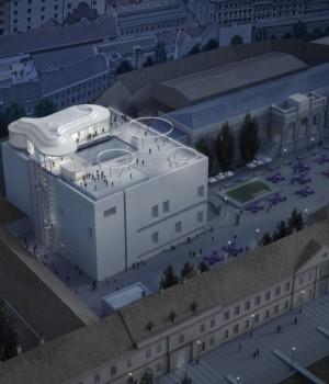 Leopold Museum in Wien eröffnet MQ Libelle